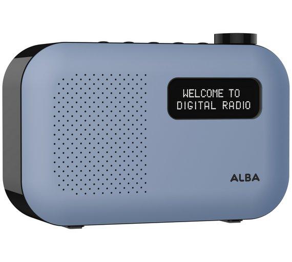Alba Mono DAB Radio Blue 25% OFF £17.99 @ Argos.co.uk