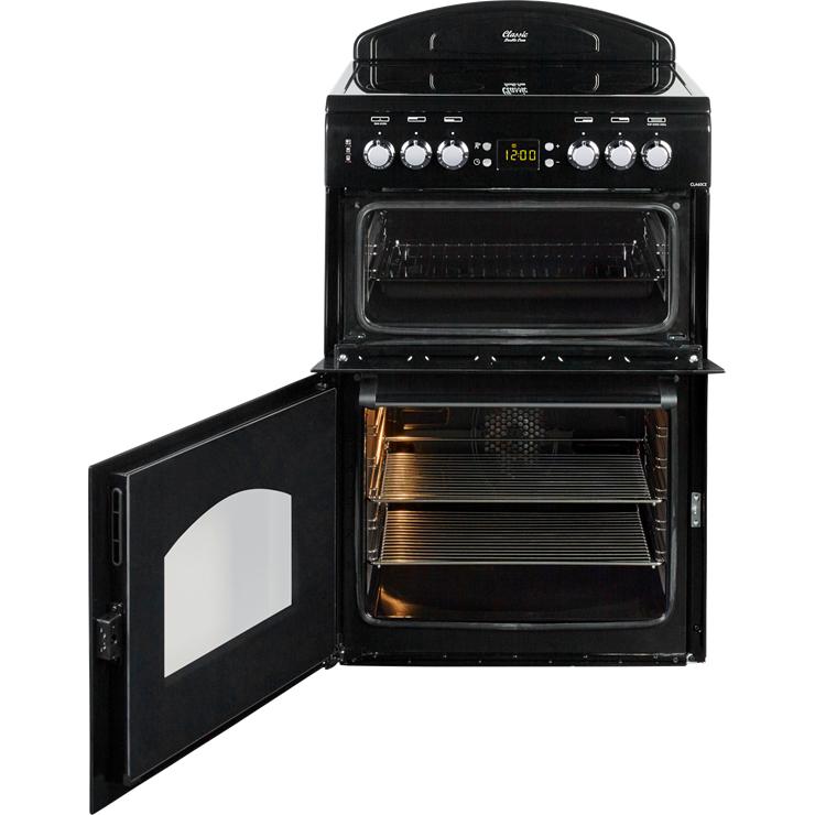Leisure CLA60CEK 60cm Classic Mini Range Ceramic Cooker in Black £362.99 del / Montpellier MR90CEMK Single Cavity Range Cooker with Ceramic Hob in Black £412.99 + Rapid Delivery @ Co-Op electrical