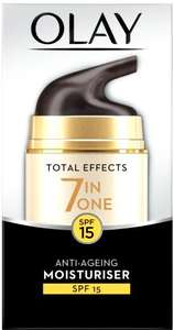 Olay Total Effects 7-in-1 Eye Transforming Cream (15ml) was £14.00 now £6.00 (Rollback Deal) @ Asda