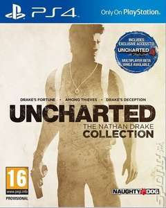 Uncharted: The Nathan Drake Collection (PS4) £12.74 Delivered (Pre Owned) @ Music Magpie (15% Off at Checkout)