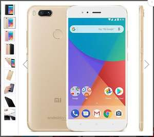 Golden with 4GB RAM 64GB (not 32GB) ROM - Xiaomi Mi A1 MiA1 Global Version Smartphone for only £159.49 with code (+ possible £9.95 Quidco cashback) @ BangGood