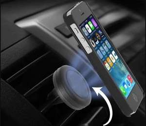 Magnetic Car Air Vent Mount Holder now only 56p delivered using code @ Gearbest