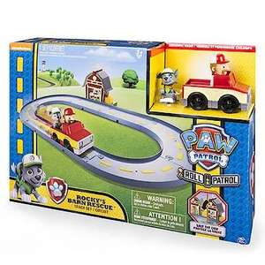 Paw Patrol Roll Patrol Rocky's Barn Rescue Track Set half price was £20 now £10 with a code see below @ The Entertainer