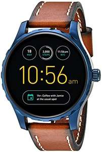 Lowest price yet for this Fossil smart watch Fossil Gen 2 Smartwatch - Q Marshal Brown Leather  £139.99 @ Amazon