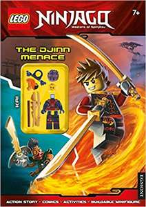 (Back-Order) LEGO Ninjago: The Djinn Menace (Activity Book with Minifigure) £2.50 @Amazon (£5.49 Non-Prime)