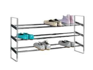 Livarno Living Extendable Shoe Rack (Up to 15 pairs of shoes) £13.99 @ Lidl