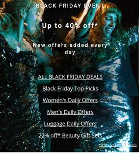 House of Fraser 40% Black Friday Sale