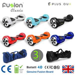 Fusion Hoverboard-UK manufacturer 50%off £149.95 (RRP£329.95 @ Fusion board