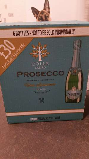 6 bottles of prosecco for £30 in Asda