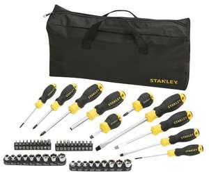 48pc Stanley Tools set with bag £16.99 @ RS - online (£20.39 inc VAT and next day Delivery)