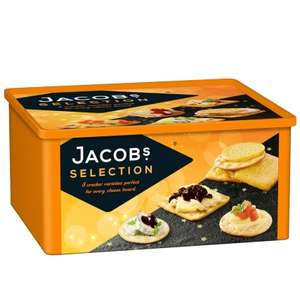 Jacobs Biscuits & Crackers Selection (900g) was £4.99 now £3.99 @ B&M