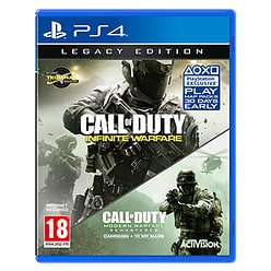Call of Duty: Infinite Warfare - Legacy Edition with Modern Warfare Remastered  £7.99 pre owned @ Game