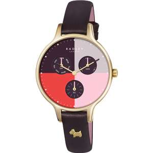 Radley Ladies Abbey Clove Leather Chronograph Watchjust £39 with Gift Box & Free Next Day Delivery @ Watches2U (Using code)