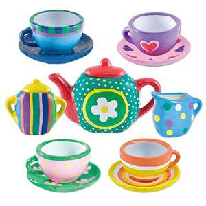 Galt Toys Paint a Tea Set  £7.26 Prime @ Amazon