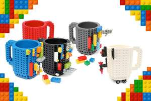 Lego Compatible Build On Brick Mug £9.98 delivered @ Wowcher