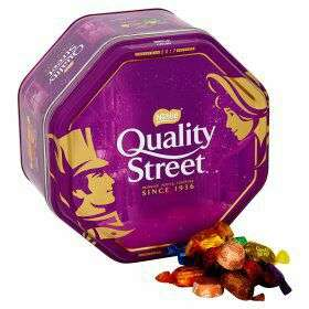 Quality Street Tin 1.5kg Asda £8.00 reduced from £10.00 on a rollback deal