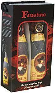 Faustino 1 Gran Reserva Twin gift pack 2 x 75 cl, £14 a bottle