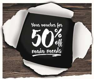 Mitchells & Butlers 50% off mains Monday 20 to Thursday 23 November - Toby Carvery, Harvester etc
