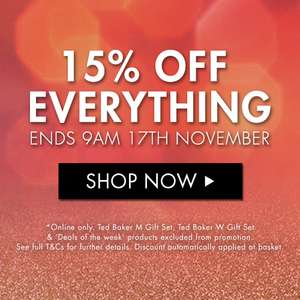 The Perfume Shop - 15% off everything