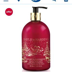 Baylis and Harding Midnight fig & Pomegranate 500ml handwash £1.50 @ Boots who have now restocked