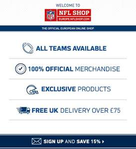Official NFL Shop Europe Big Clearance Event Up to 40% off