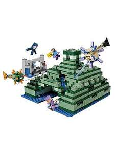 Lego Minecraft Ocean Monument RRP 119.99 £95.52 @ Very