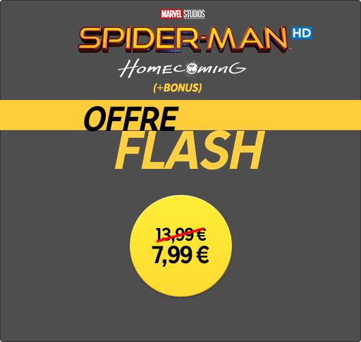 Rakuten Spider-Man Homecoming iHD £6.99 @ Rakuten with 100% TCB
