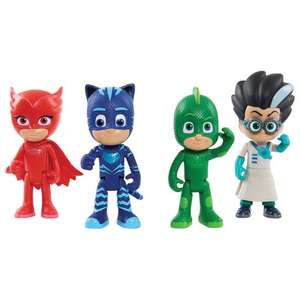 PJ Masks 15cm Deluxe Talking Figure 4-Pack £34.99 + Free Delivery @ Smyths