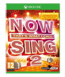 NOW That's What I Call Sing 2 (Solus) (Xbox One) £4.99 Delivered @ GAME