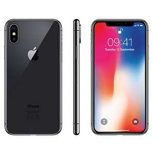 iPhone X 64GB SPACE GREY IN STOCK RIGHT NOW £999 @ John Lewis