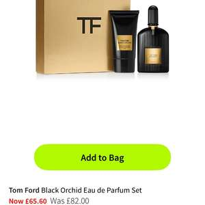 Tom Ford black orchid edp gift set £65.60 @ House of Fraser