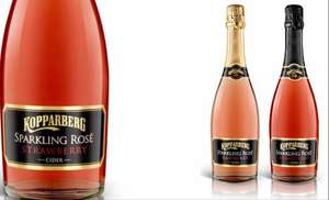 Kopparberg sparkling cider strawberry and raspberry were £5 now £4 @ Asda