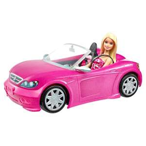 Barbie doll and pink convertable car. £15 @ Tesco