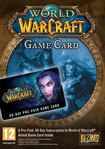Warcraft 60 days game card - £15.99 (Prime) @ Amazon