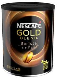 Nescafe Gold Blend Barista Style Instant Coffee 180G £4.00 reduced from £7.89 @ Asda