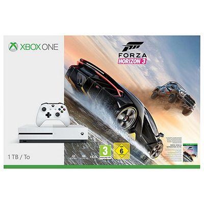 Xbox one s 500GB Horizon 3+Battlefield 2 +3 month live £199.99 @ Tesco
