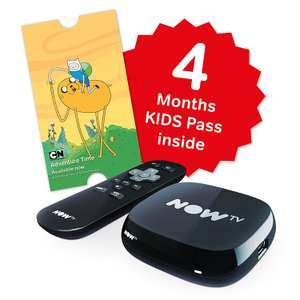 NOW TV Box with 4 Months Kids Pass - £10.00 Instore at Asda