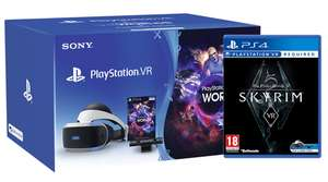 PSVR + camera + vr worlds + skyrim VR + Farpoint + 2x motion controllers @ Shopto