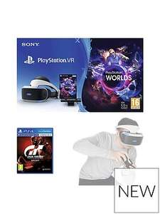 PS VR Starter Pack with both Skyrim & GT Sport @ Very for £269.99