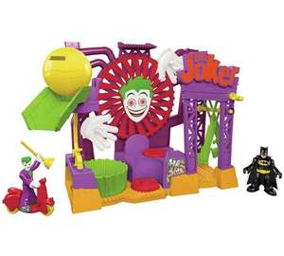 Imaginext Joker laff factory £20.49 @ argos