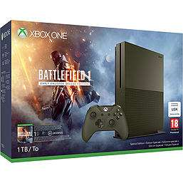 1TB Xbox One S Military Green Battlefield 1 Early Enlister Deluxe Edition Bundle at Game for £229.99