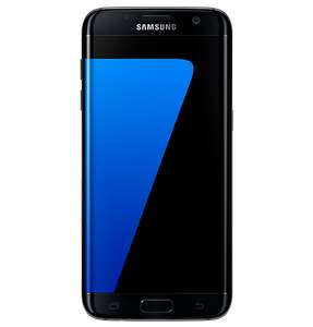 Sim Free Samsung Galaxy S7 Edge Mobile Phone - Black (Various Colours) @Argos for £379