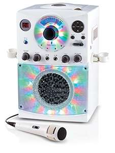 Singing Machine SML385 Karaoke Bluetooth Microphone and cd @ amazon for £59.90