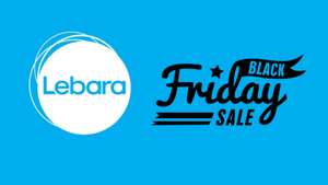 LEBARA 90% OFF BLACK FRIDAY: 2GB, 1000 MINS FOR £1
