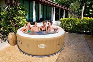 Lay-Z-Spa Palm Springs 4-6 person inflatable hot tub - £349.14 @ Amazon