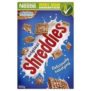 500g Shreddies 50p @ Poundstretcher Dagenham & Newbury Park (Ilford)