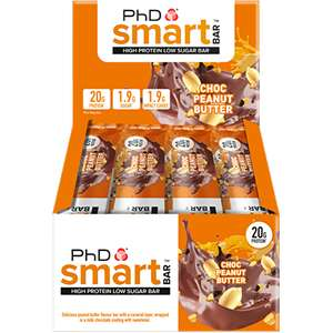 PhD smart bars at Amazon for £13.49 (Prime or £16.48 non Prime)