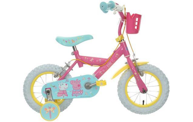 """Peppa Pig Kids Bike 12"""" Wheel - £54 @ halfords with code"""