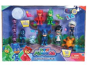 PJ Masks Deluxe 16 pc Figure Set - £21.80