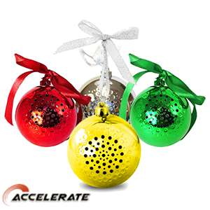 Wireless Bauble Speaker £4.99 home bargains